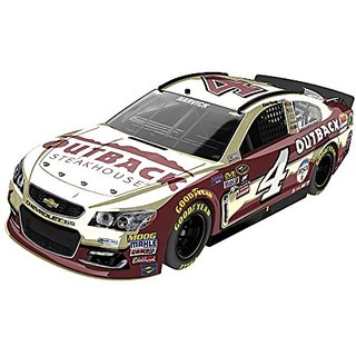 Lionel Racing Kevin Harvick #4 Outback Steakhouse 2016 Chevrolet SS NASCAR Diecast Car (1:24 Scale), Chrome