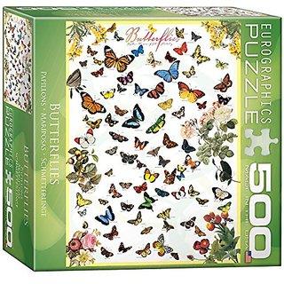 Butterflies Puzzle, 500-Piece