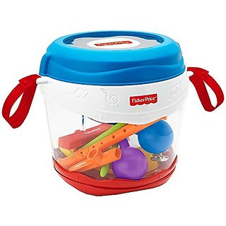 Fisher Price Music On-the-Go Drum Set with Musical Instruments