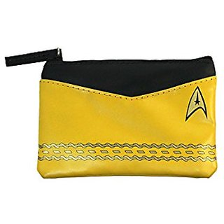 Star Trek Original Series Gold Uniform Coin Purse