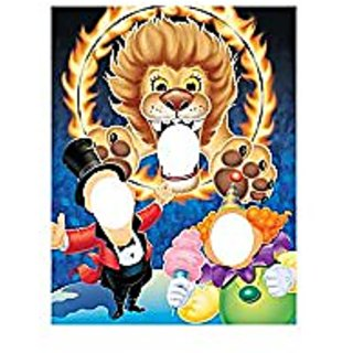 Creative Converting BB016313 Circus Party Photo Banner