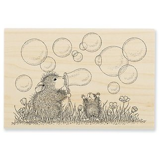 Stampendous Wooden Handle Rubber Stamp,