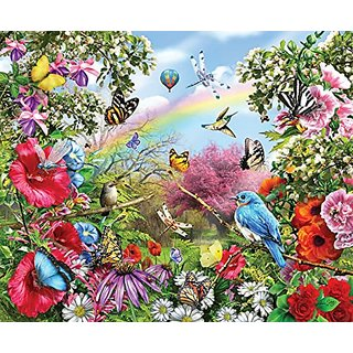Bluebird Lookout a 1000-Piece Jigsaw Puzzle by Sunsout Inc.