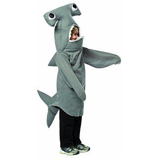 Rasta Imposta Hammerhead Shark, Grey, 3-4T