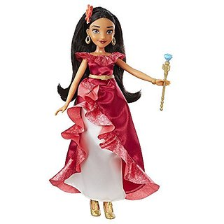Introducing Disneys Elena of Avalor-Includes removable fashion accessories-Doll comes dressed in series-inspired advent