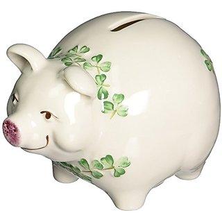 Belleek Piggy Bank