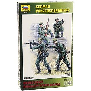 Zvezda Models German Panzer Grenadiers