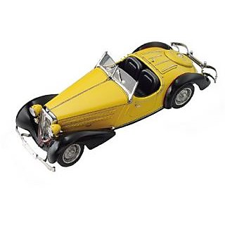 CMC Audi 225 Front Roadster (Black Yellow) Limited Edition 1:18 Scale