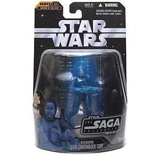 Star Wars The Saga Collection Holographic Clone Commander Cody