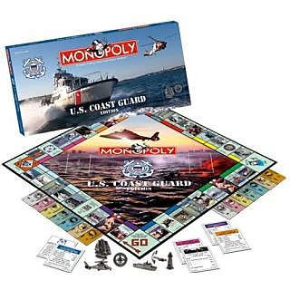 Usaopoly U.S. Coast Guard Edition Monopoly