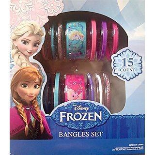 Disney Frozen Bangles Set - 15 Coun