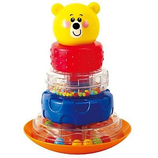 Enhances eye-hand coordination, problem solving skills and size, shape and color recognition-Recommended for children a