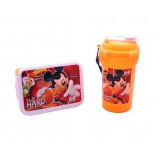 Mickey Mouse Tiffin Box & Sipper Set