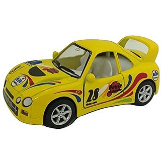 Fun Stuff Yellow Turbo Racer Pullback Toy Vehicle - 5