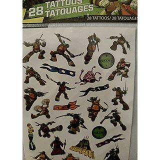 Teenage Mutant Ninja Turtles Temporary Tattoos, Package of 28
