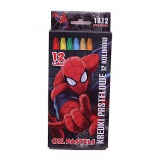 Spiderman Oil Pastel Colors 12 Pcs Set