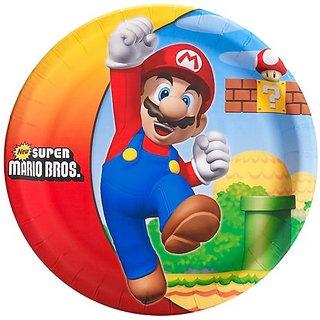 Super Mario Bros. Dinner Plates [8 Per Pack]