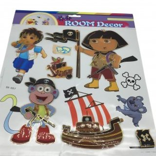 3D Print Room Decor Stickers - Dora The Explorer
