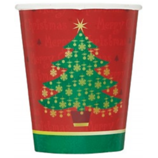 Funcart Golden Christmas 9Oz Cups