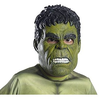 Avengers 2 Age of Ultron Childs Hulk 3 4 Mask