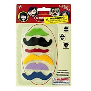bulk buys Self-Adhesive Mustache Play Set