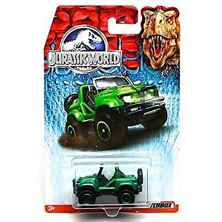 CLIFF HANGER Jurassic World 2015 Matchbox 1:64 Scale Basic Die-Cast Vehicle