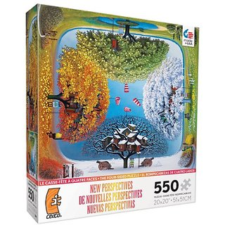 Ceaco New Perspectives Apple Calendar Jigsaw Puzzle