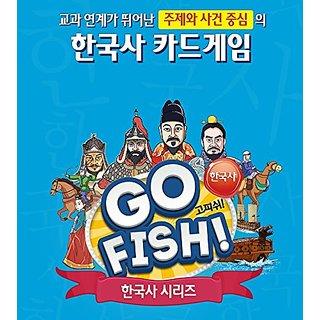 Korean History Board Game Go Fish, Yi Sunshin and Imjin War