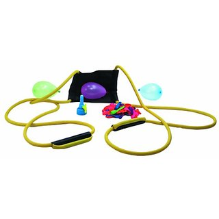 Water Sports Deluxe 3-Person Water Balloon Launcher Kit