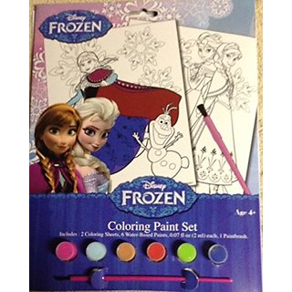 Disney Frozen Coloring Paint Set