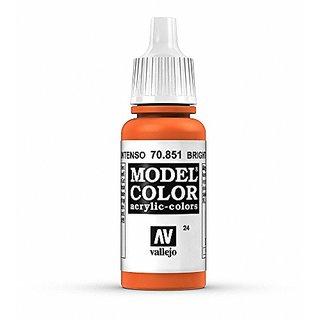 Vallejo Bright Orange Paint, 17ml