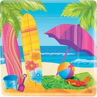 Surfs Up Dinner Plates 8ct