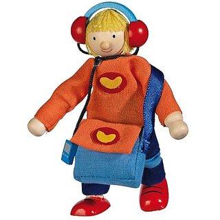 Goki Flexible Puppet Son Doll