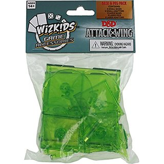 Attack Wing: Dungeons and Dragons Base and Peg - Green