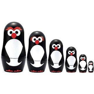 Matryoshka Madness Micro-Penguin Matryoshka