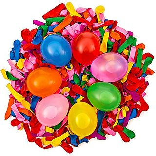 Exceedream Balloons 500 Water Balloons in 7 Vibrant Colors