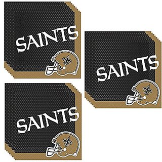 New Orleans Saints Party Luncheon Napkins - 48 Pieces