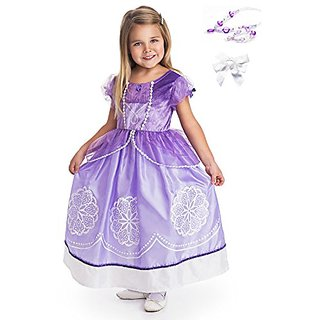 Little Adventures Amulet Princess Dress Up with Necklace, Bracelet & Hairbow Age 7-9