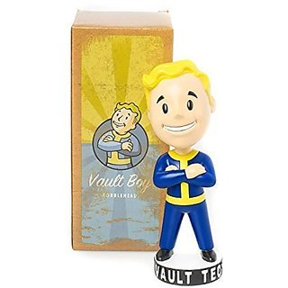 Fallout 3: Vault Tec Pip Boy Thumbs Up Arms Crossed Bobblehead Figure Toy - 7