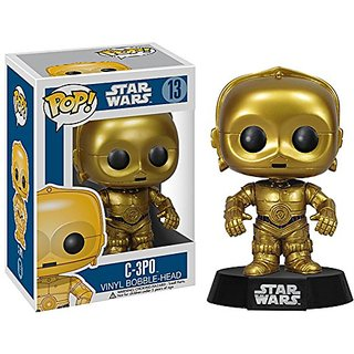 Star Wars - C3PO POP Figure Toy 3 x 4in