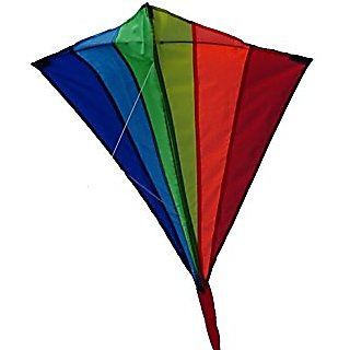 The Diamond Kite from The Kite Outlet for Kids 5+ Years and Older - Traditional Easy Flying Kite for Kids, Ready to Fly