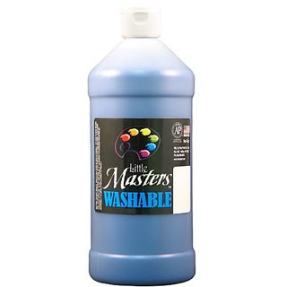 Little Mastersby Rock Paint 213-730 Washable Paint 1, Blue, 32-Ounce
