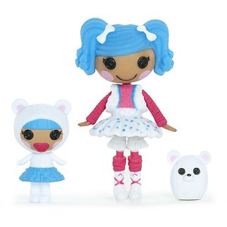 Lalaloopsy Mini Littles Doll, Mittens Fluff n Stuff Bundles Snuggle Stuff