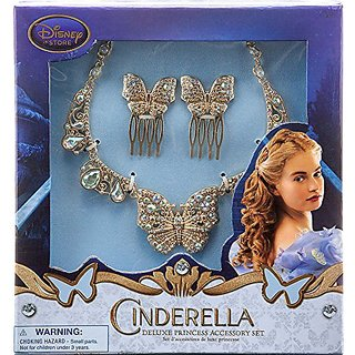 Disney Princess Cinderella Film Collection Deluxe Princess Acessory Exclusive Set [Live Action Version]
