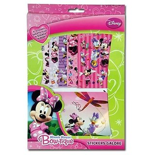 6 reusable sticker sheets and album-Features your favorite characters-Decorate your album-For ages 3 and up