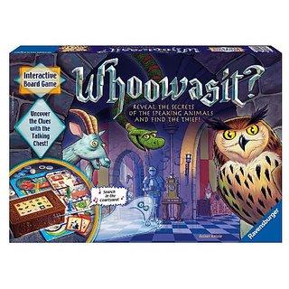 Whoowasit? Award-Winning Board Game Electronics