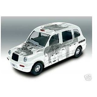 The Beatles Revolver Album Cover Die-Cast Collectable - London Taxi