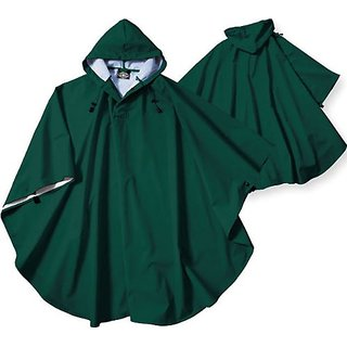 Charles River Apparel 8709 Youth Pacific Poncho, Forest, One Size