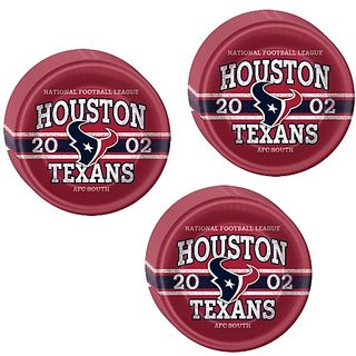 NFL Houston Texans Party Lunch Dinner Plates - 24 Guests