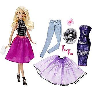 Barbie Fashion Mix N Match Doll, Blonde